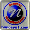 General nanosys.com 1x1 Computer Case Domelabel