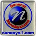 General nanosys.com 1x1 Computer Case Domelabel