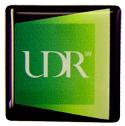 UDR 1x1 Computer Badge label