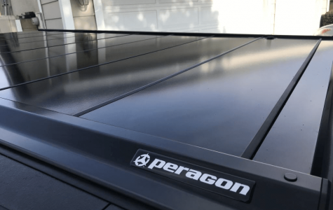 Branding Label for Peragon Truck Bed Cover an Automotive Accessory