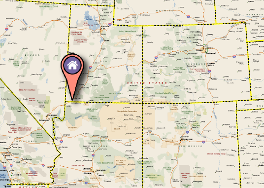 We are Located in Southern Utah, USA