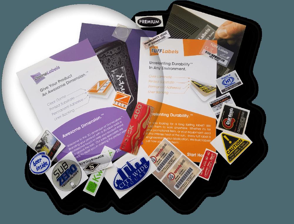 DomeLabels Sample pack