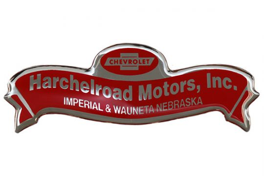 Custom size and shape Automotive Dealer label