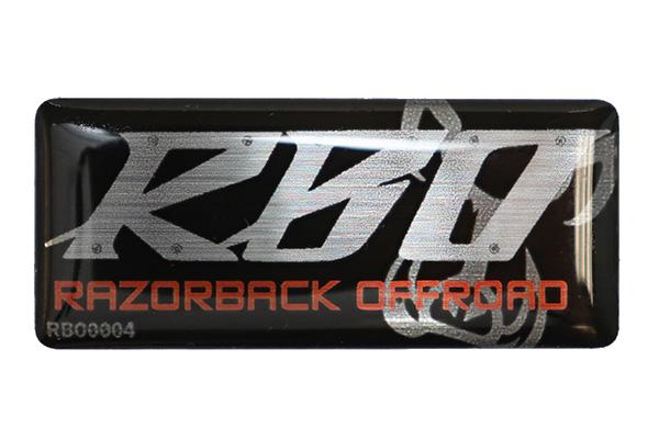 Razorback Offroad Automotive Accessories Label