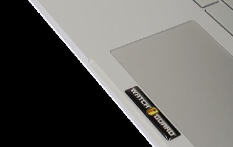 DomeLabels Branding on a Laptop computer