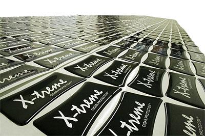 X-treme Dome Labels